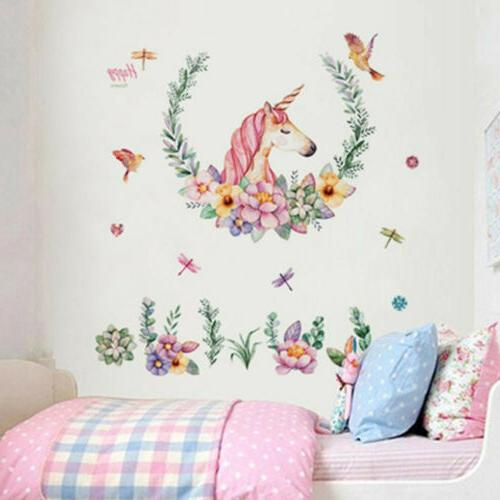 Cartoon Wall Decor Removable Decals