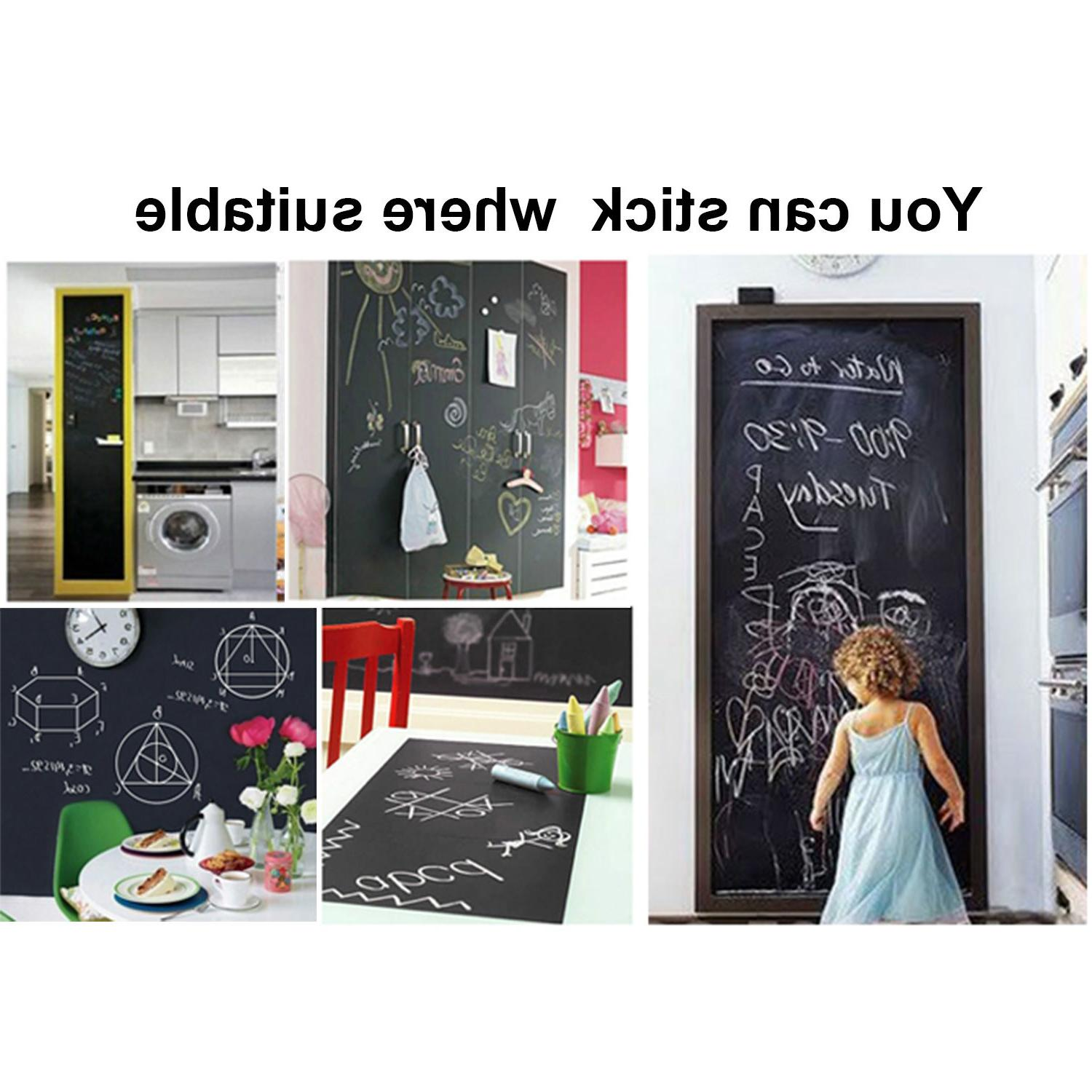 Chalk Removable Vinyl Wall Chalkboard 200 45cm