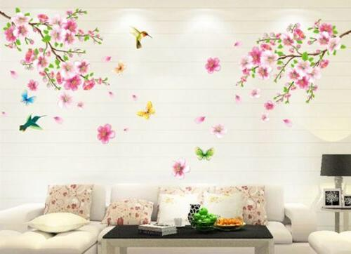 cherry blossom flower wall sticker quality butterfly