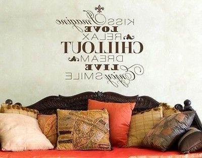 chillout highest quality wall decal sticker