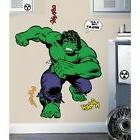 "CLASSIC INCREDIBLE HULK 42"" Giant Wall Decal Marvel Room Dec"