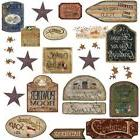 COUNTRY SIGNS 26 BiG Wall Stickers Room Decor Western Decals