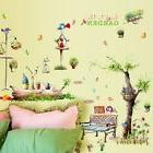 Country Style Green Forest Home Decor Wall Sticker Diy Decal