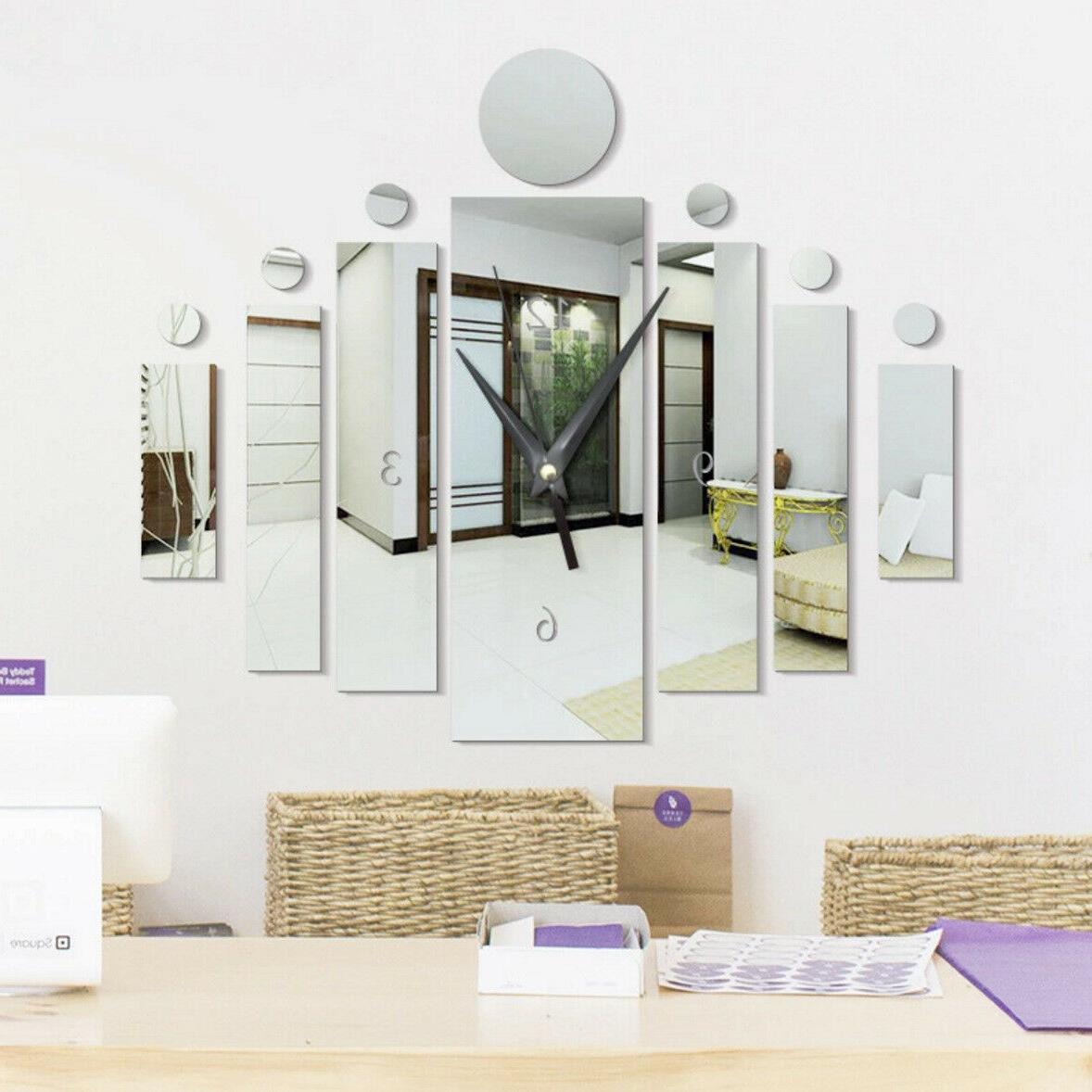 Creative Mirror Wall Sticker Wall Art Decals Removable