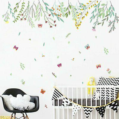 Branches Green Wall Decals