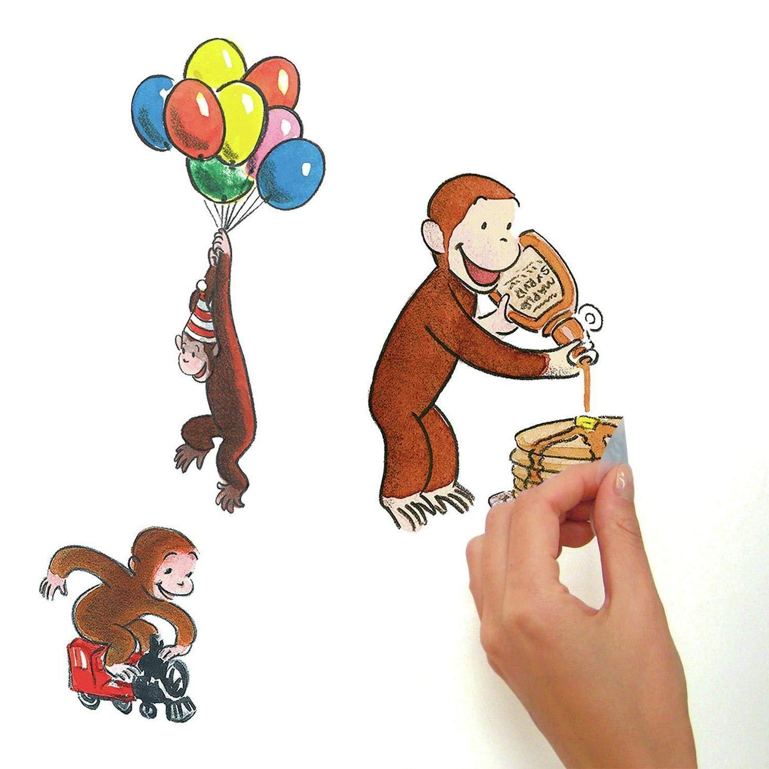 CURIOUS Monkey Room Decor Baby Nursery