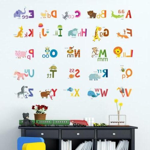 Decowall ABC Decals Stickers Peel
