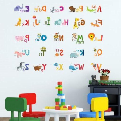 Decowall DA-1503A ABC Wall Decals Stickers and...