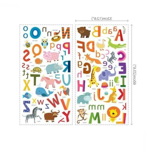 Decowall DA-1503A ABC Decals Stickers Peel and...