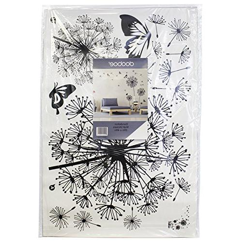 Dooboe - Dandelion Art Decor- Peel and Mural