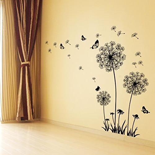 Dooboe Decal - Dandelion Art Decor- Peel and Stick Removable Mural by