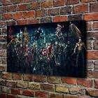 Dc Extended Vs Marvel Home Decor Room HD Canvas Print Pictur