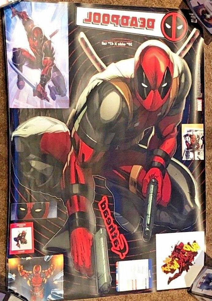 decals deadpool marvel wall decal 96 96104