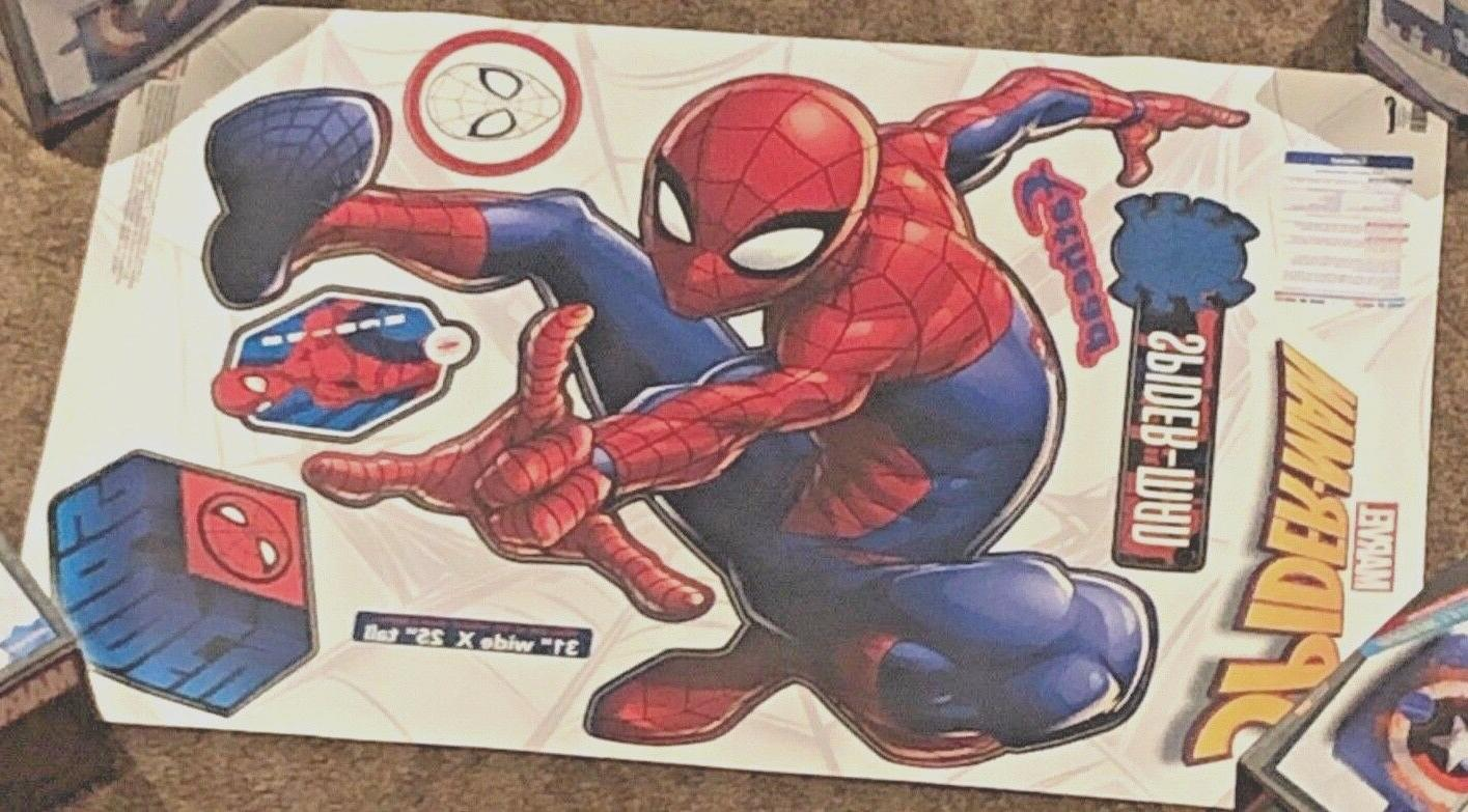 Fathead Spider-Man Marvel Wall NEW