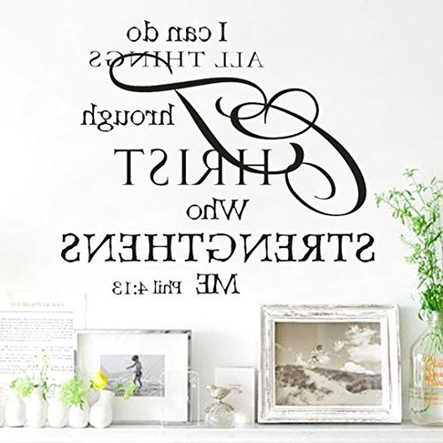 OVERMAL Decor,1PC Can Do Removable Mural Stickers Decal Home...