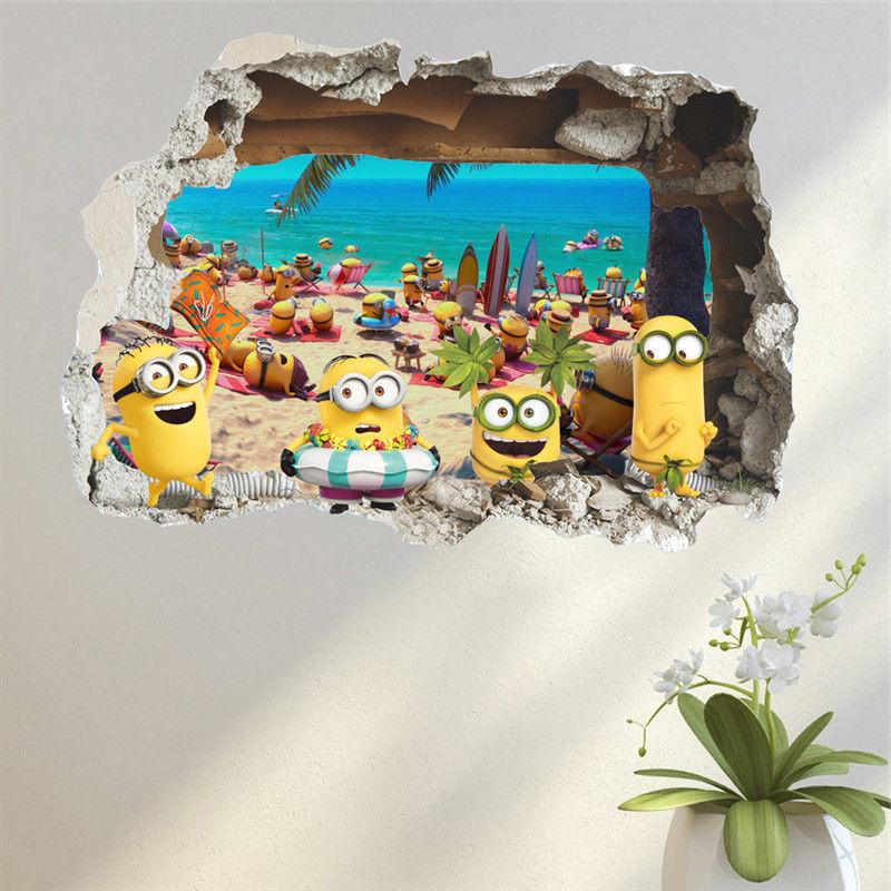 Despicable - Minions - 3D Sticker Decal