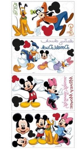 Disney Mickey and Peel and Stick Applique