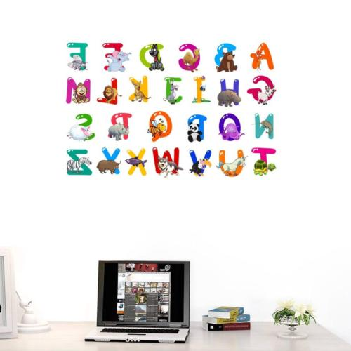 Letters Character Wall