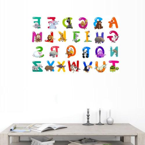 BIBITIME Letters Character Vinyl Wall Decals