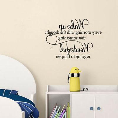 DIY heart bedroom Quote Art Room Removable