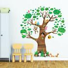 Decowall DL-1709 Giant Tree and Animals Wall Stickers peel &