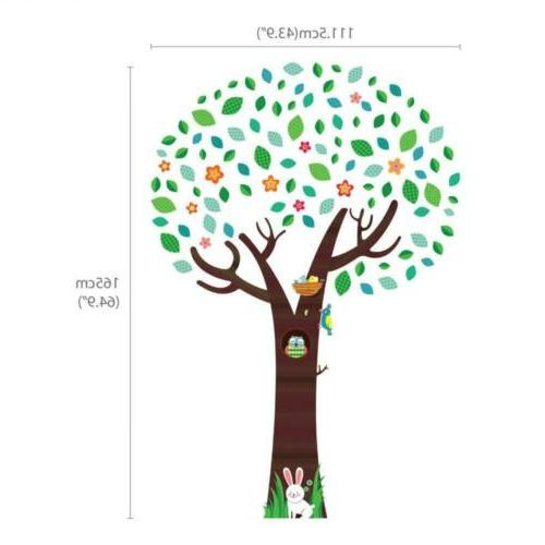 Decowall Tree with Kids Wall Decals Stickers...