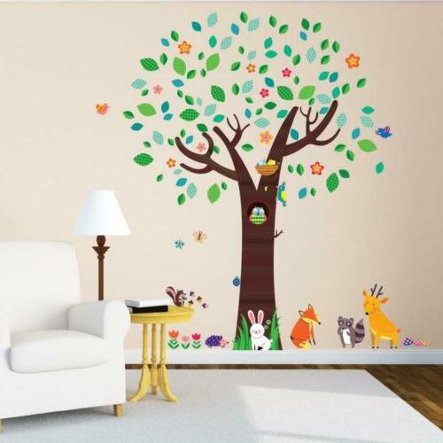 Decowall DM-1312 Large with Wall Stickers...