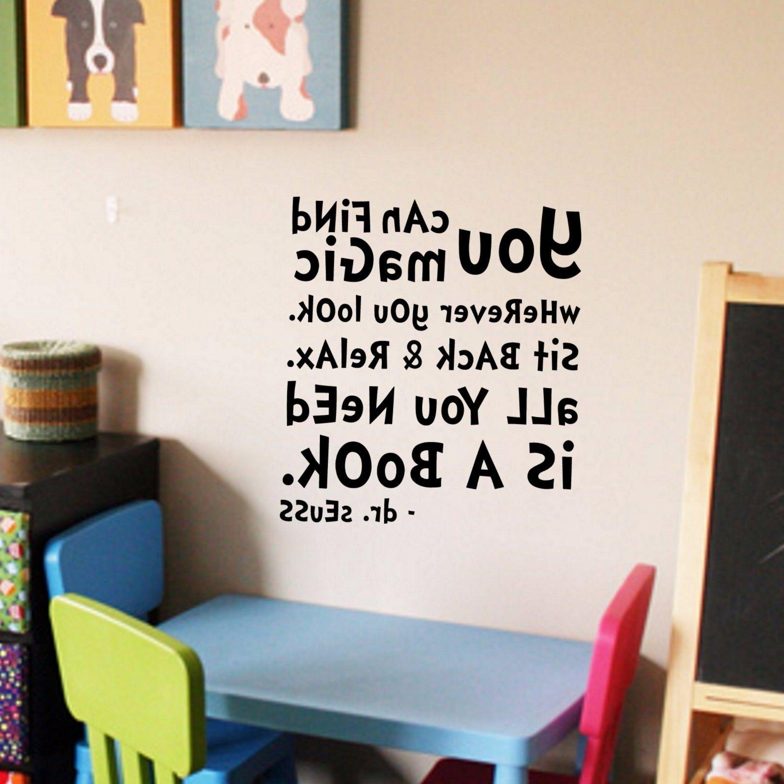 dr seuss quote wall decal vinyl sticker