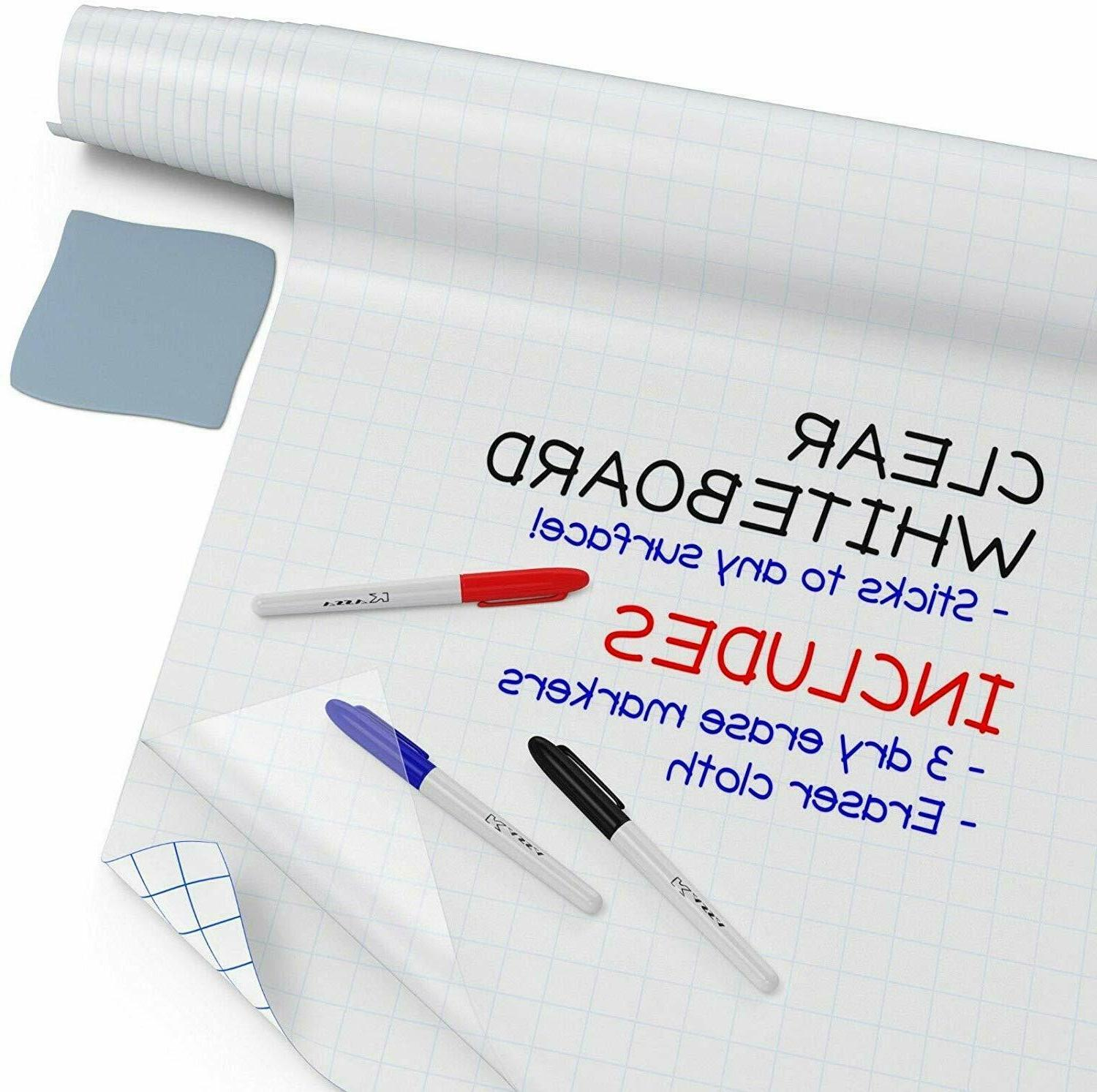 dry erase board clear contact paper 6