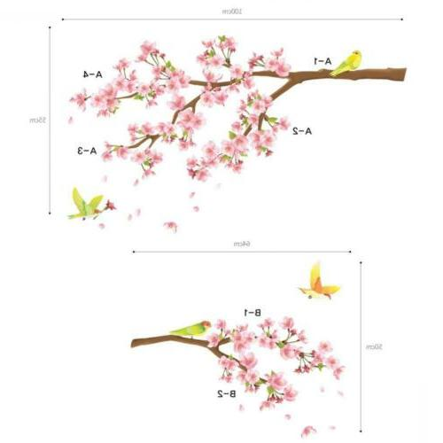 DECOWALL DW-1303 Cherry and Wall Decals