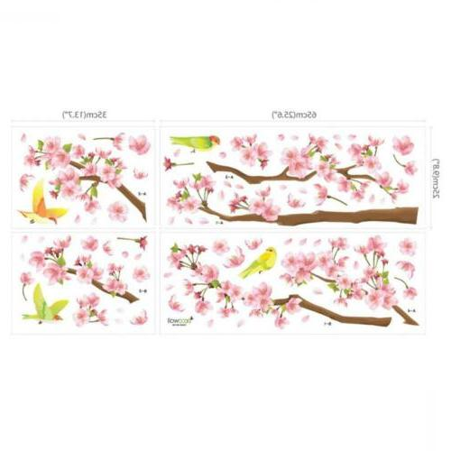 DECOWALL Cherry and Decals Multicolor