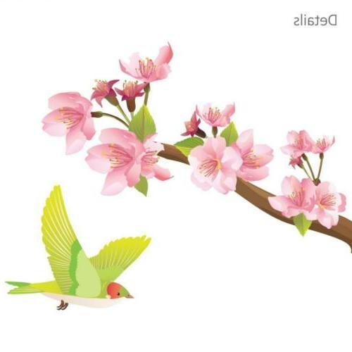 DECOWALL and Birds Wall Decals Multicolor