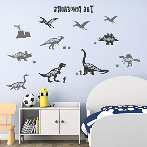 Decowall DWG-603G Graphic Kids Stickers Wall Nursery Living