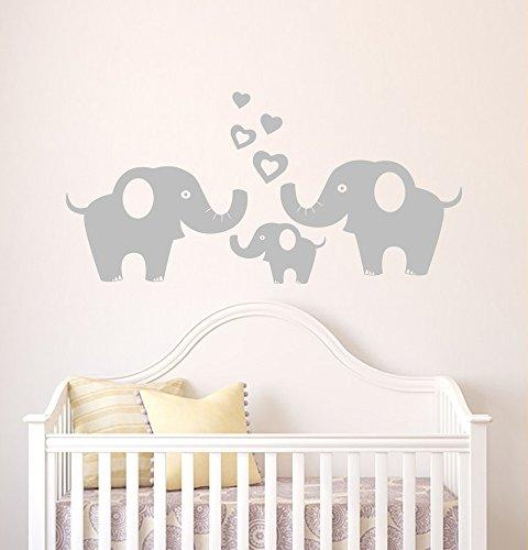 elephant family wall decals removable
