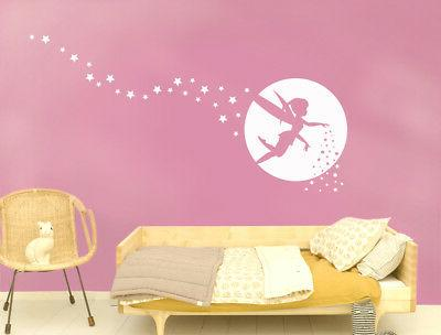 Fairy wall decals,
