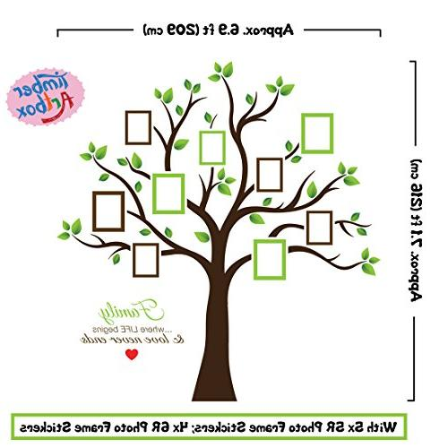 Timber Tree Wall Decal - Sweetest and