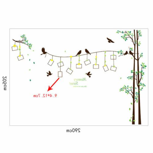Family Tree Wall Mural Removable Stickers