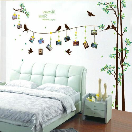 family tree wall decal mural sticker diy