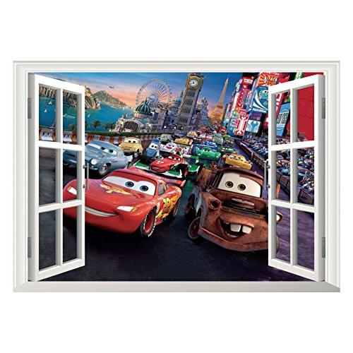 fange diy removable pixar cars