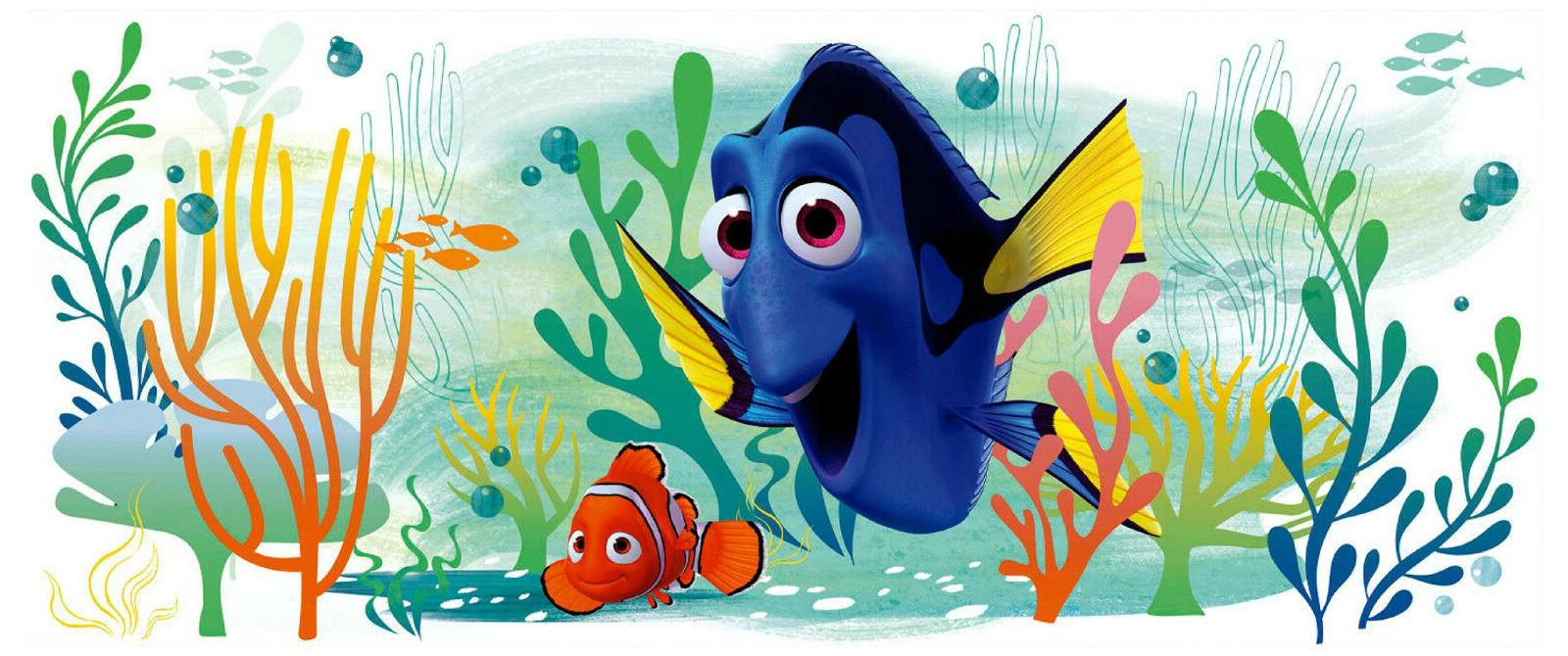 FINDING DORY AND NEMO GIANT WALL DECALS Disney Sticker Tropi
