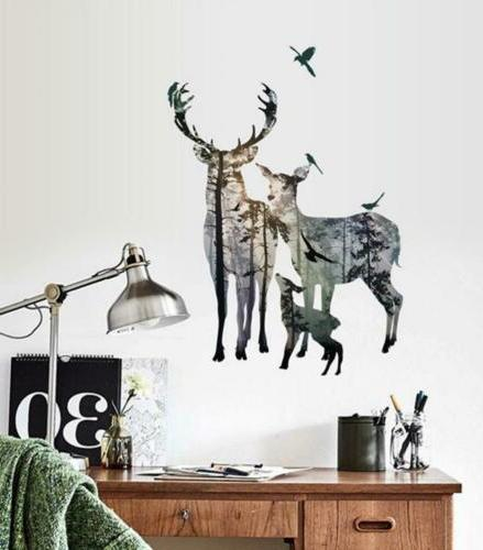 BIBITIME Forest Wall Decal