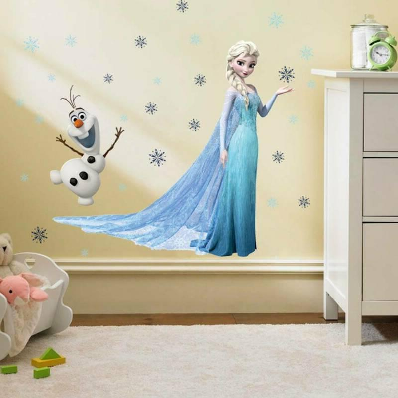 Frozen Disney Decal Wallpapers Removable 45*60cm Na