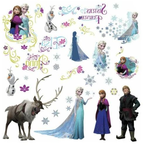frozen movie wall decals olaf