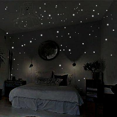 400pcs Glow Dot Wall Stickers