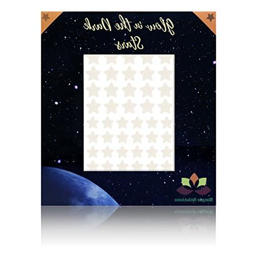Glow in Stars Bonus Full Moon Wall -2018 230 & Large Moon, Lasting, Realistic and Gift, Room Decor, Decoration and