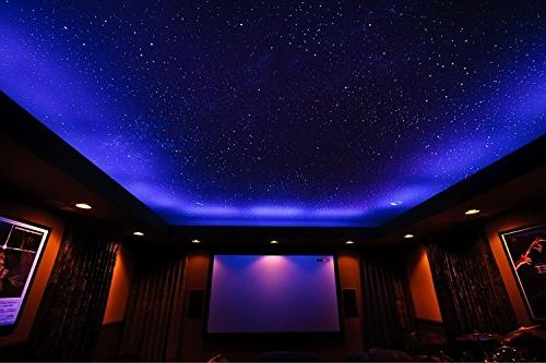 Glow Stars 20cm Full Wall -2018 230 Stars & Large Moon, and Bright Gift, Room and
