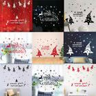 Happy New Year Merry Christmas Wall Sticker Home Room Shop W