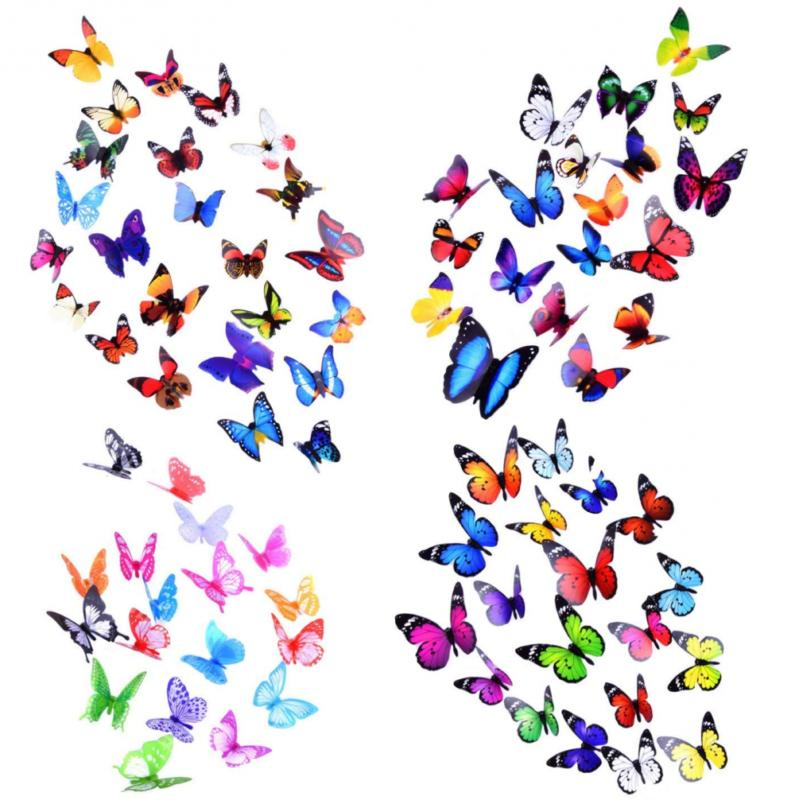 Heansun Decal Butterfly, for Decor