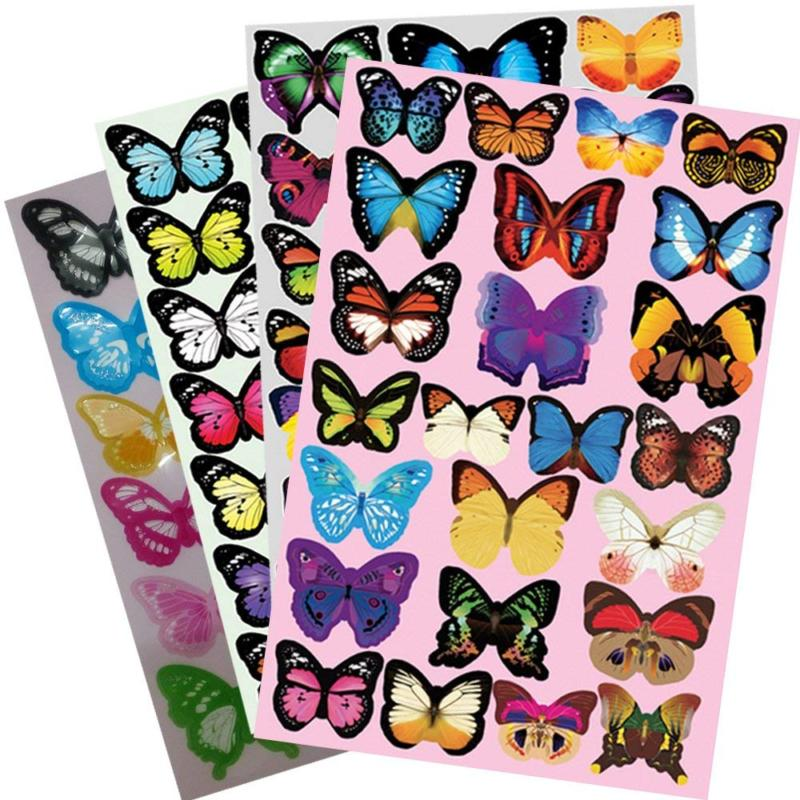 Heansun PCS Decal Butterfly, Decals for Room Home Decor