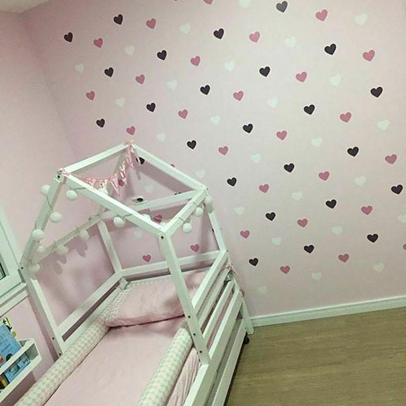 heart wall sticker for kids room baby